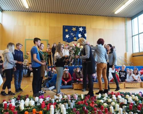Adventfeier & Verabschiedung von Frau Dir. Hafner 29.11.2019